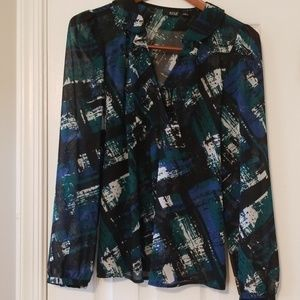 🍁3 for $28🍁 a.n.a Long-sleeved Blouse